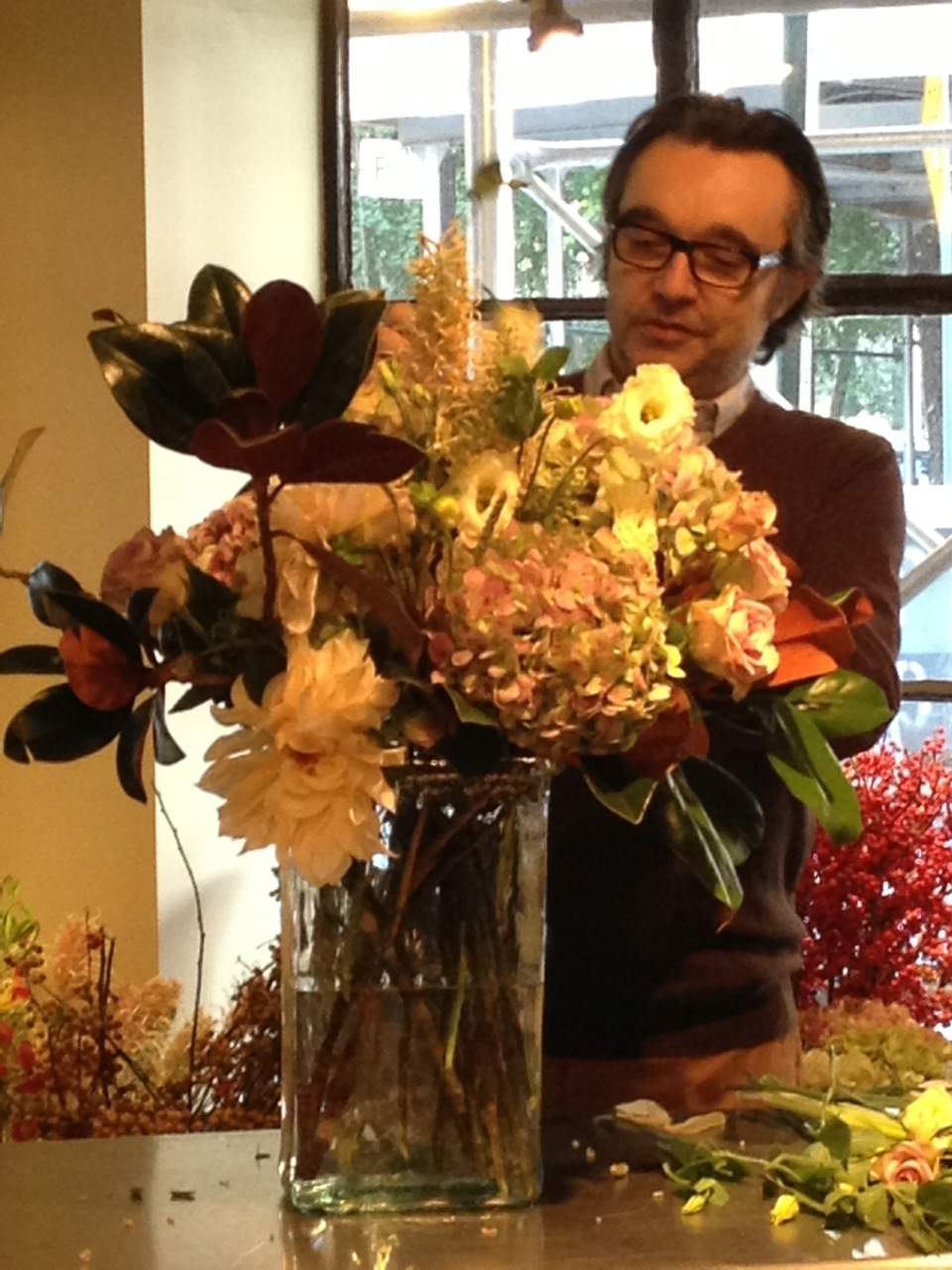 Mary Pinson 10 Master Class With Famed Parisian Florist